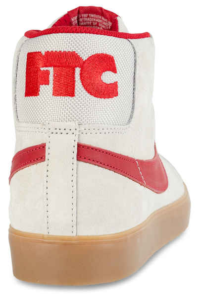 b91d8b92b49afe Nike SB x FTC Blazer Mid Shoe (light bone brickhouse gum) buy at skatedeluxe