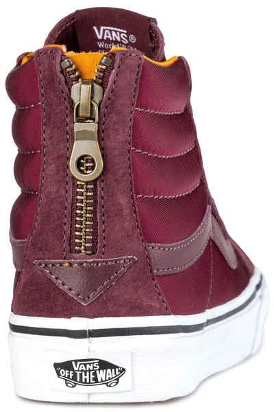 5811f2a8195948 Vans Sk8-Hi Slim Zip Shoes women (port royale true white) buy at skatedeluxe