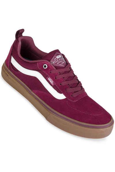 Vans Kyle Walker Pro Shoes (burgundy