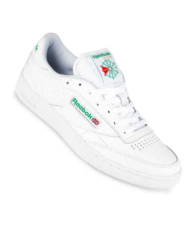 c43285e6c40004 Reebok Club C 85 Shoes (white green) buy at skatedeluxe