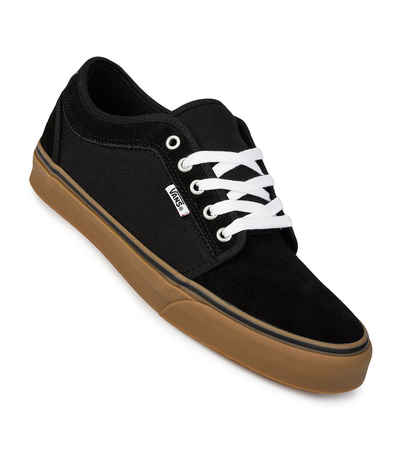 Ver internet De ninguna manera Preludio  Vans Chukka Low Shoes (black black gum) buy at skatedeluxe