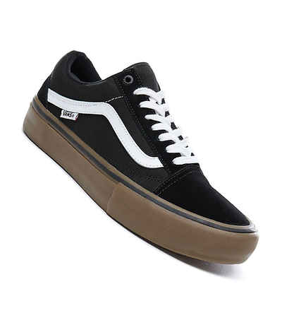 Vans Old Skool Pro Shoes (black white