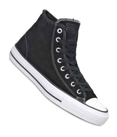 Converse CONS Chuck Taylor High All Star Pro Shoes (black black white) buy  at skatedeluxe 5c1efbf436