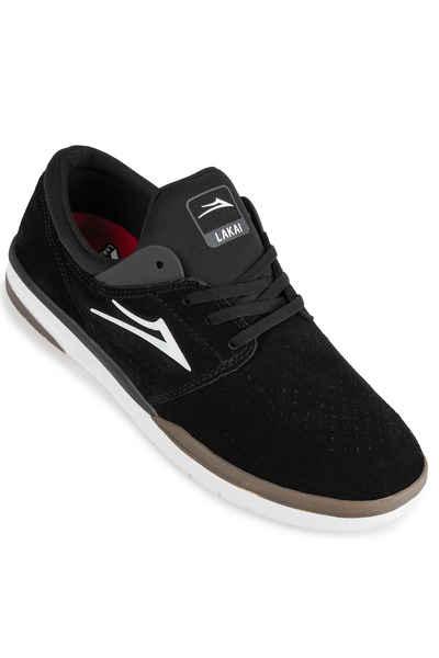 Lakai Fremont Suede Shoes (black grey
