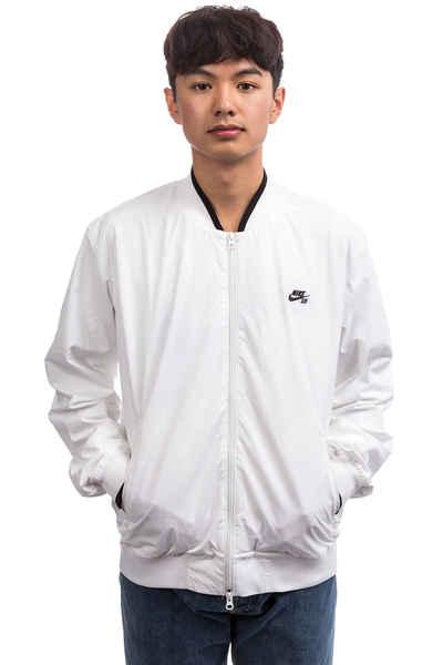 Nike SB Icon Bomber Jacket (white white