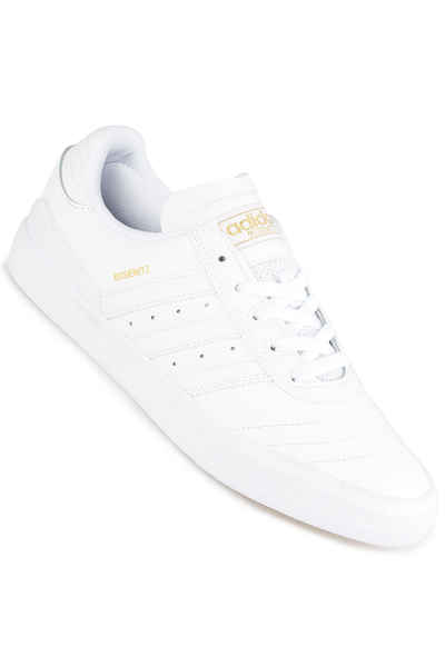 sports shoes 996bd aa2b4 adidas Skateboarding Busenitz Vulc Shoes (white white gold) buy at  skatedeluxe