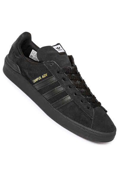 adidas Skateboarding Campus ADV Shoes (core black core black gold)