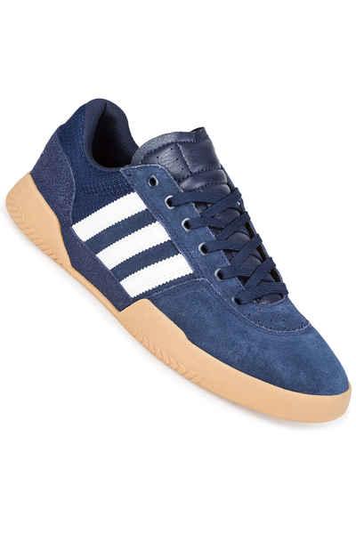 adidas city cup white black & gum shoes