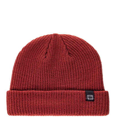 59d7ae74354 SK8DLX Square Flag Beanie (bordeaux) buy at skatedeluxe