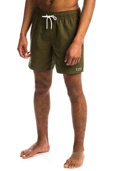 RVCA Mens Gerrard Elastic Short