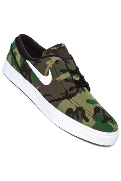 Higgins mejilla Miseria  Nike SB Zoom Stefan Janoski Canvas Shoes (multi color white) buy at  skatedeluxe