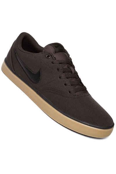 Nike SB Check Solarsoft Canvas Shoes (velvet brown black) buy at skatedeluxe c67c76d09