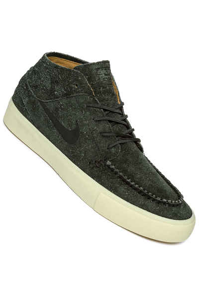 862e7d5a15b550 Nike SB Zoom Janoski Mid Crafted Shoes (black black) buy at skatedeluxe