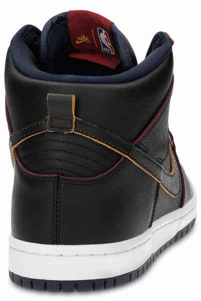 Nike SB x NBA Dunk High Pro Shoes (black black college navy) buy at  skatedeluxe 83c99d2ba