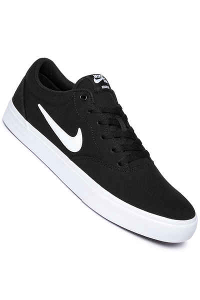 Nike SB Charge SLR Shoes (black white) buy at skatedeluxe 34404cef3