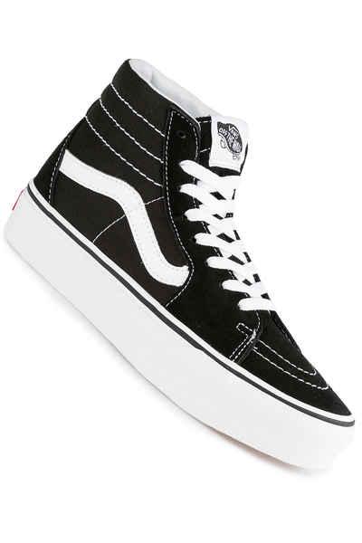 2143ce62ba Vans Sk8-Hi Plattform 2.0 Schuh women (black true white) kaufen bei  skatedeluxe