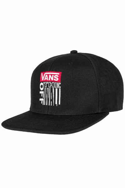 6d98596f0a8 Vans Block Snapback Cap (black) buy at skatedeluxe