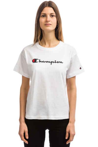 885ab6b8 Champion Crewneck T-Shirt women (white) buy at skatedeluxe