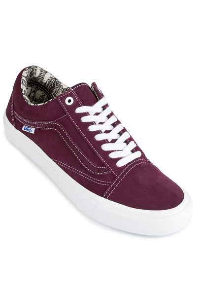 76f2618584c7 Vans x Ray Barbee Old Skool Pro Shoes (og burgundy) buy at skatedeluxe