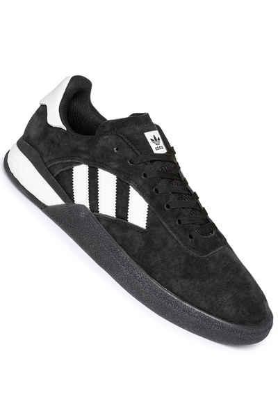 escritura Médula ósea reducir  adidas Skateboarding 3ST.004 Shoes (core black white core) buy at  skatedeluxe