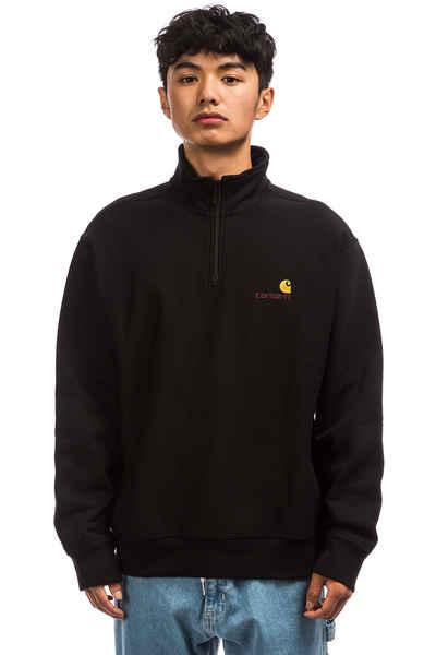 Carhartt WIP Half Zip American Script Sweatshirt