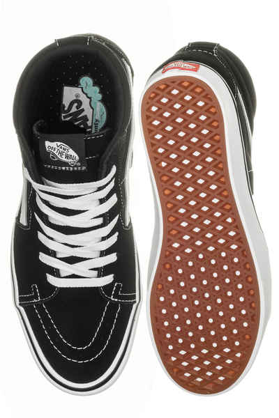 Vans ComfyCush SK8 Hi Shoes (black true white)