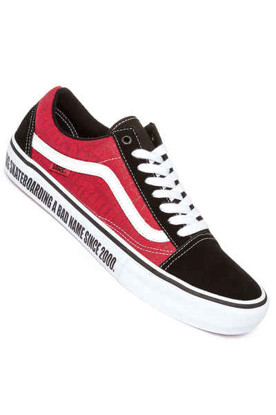 Vans x Baker Old Skool Pro Scarpa (black white red)