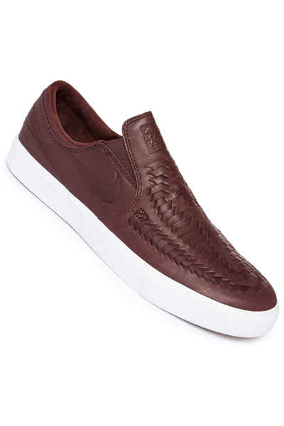 Proceso de fabricación de carreteras rotación Bien educado  Nike SB Zoom Janoski Slip Crafted RM Shoes (mahogany light brown) buy at  skatedeluxe