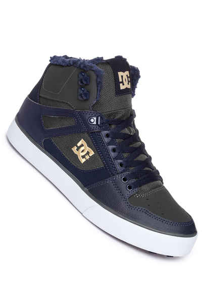 DC Pure High Top WC WNT Shoes (navy