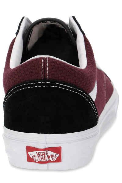 Vans Old Skool Shoes (p\u0026c black port