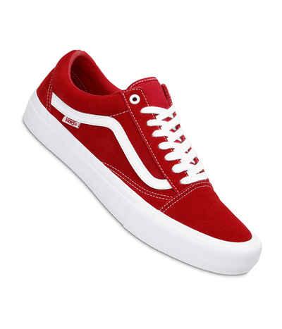 Vans Old Skool Pro Suede Shoes (red