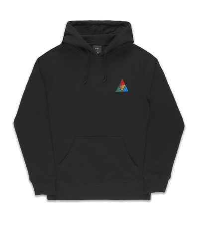 HUF Black Sweat peak sportif hood