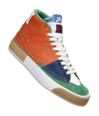 Nike SB Zoom Blazer Mid Edge Shoes (safety orange lucky green) buy ...