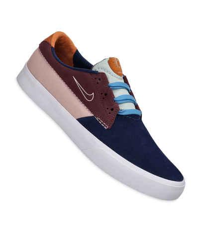 Nike SB Shane Shoes (midnight navy sail) buy at skatedeluxe