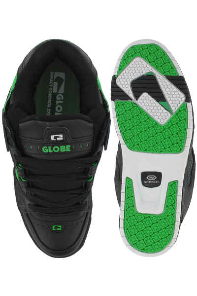 Globe Sabre Shoes (black moto green