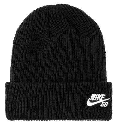 imponer cruzar León  Nike SB Fisherman Beanie (black white) buy at skatedeluxe