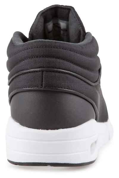 new arrival 975b5 660e5 Nike SB Stefan Janoski Max Mid Shoes (black black metallic silver) buy at  skatedeluxe