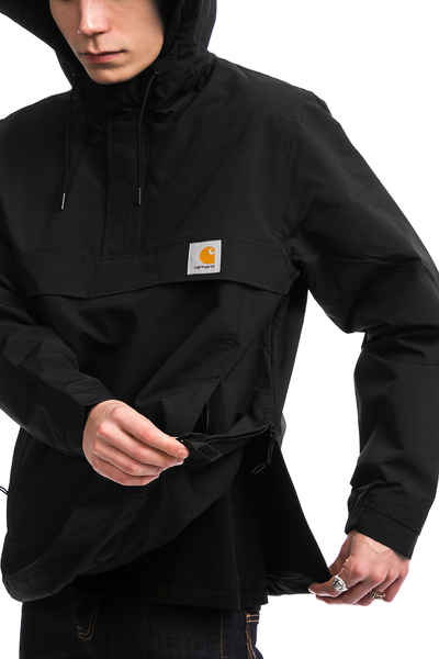carhartt wip nimbus black winter jacke