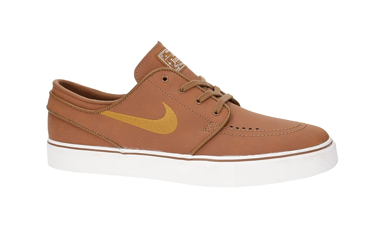 Nike SB Zoom Stefan Janoski Leather Chaussure (ale brown desert ochre sail)