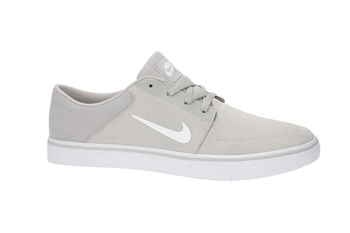 Nike SB Portmore Chaussure (pale grey white)
