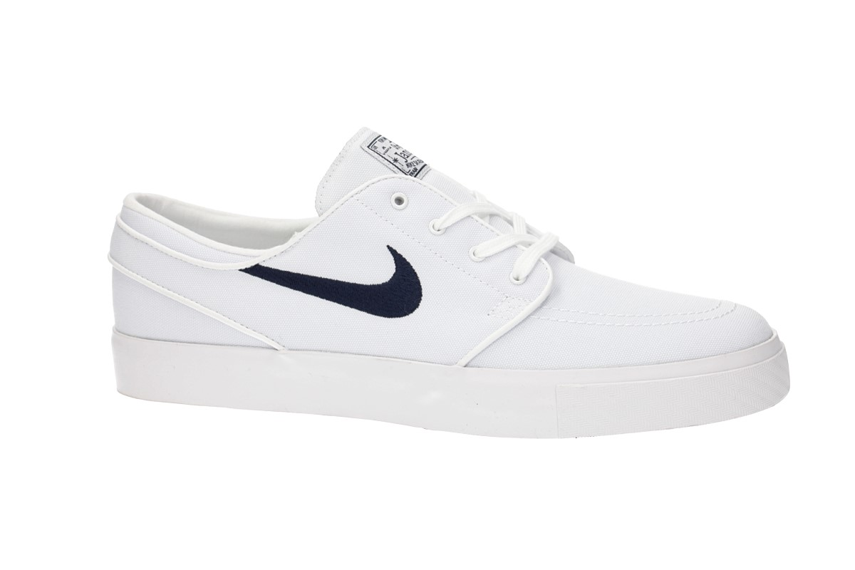 Nike SB Zoom Stefan Janoski Canvas Shoes (white obsidian)