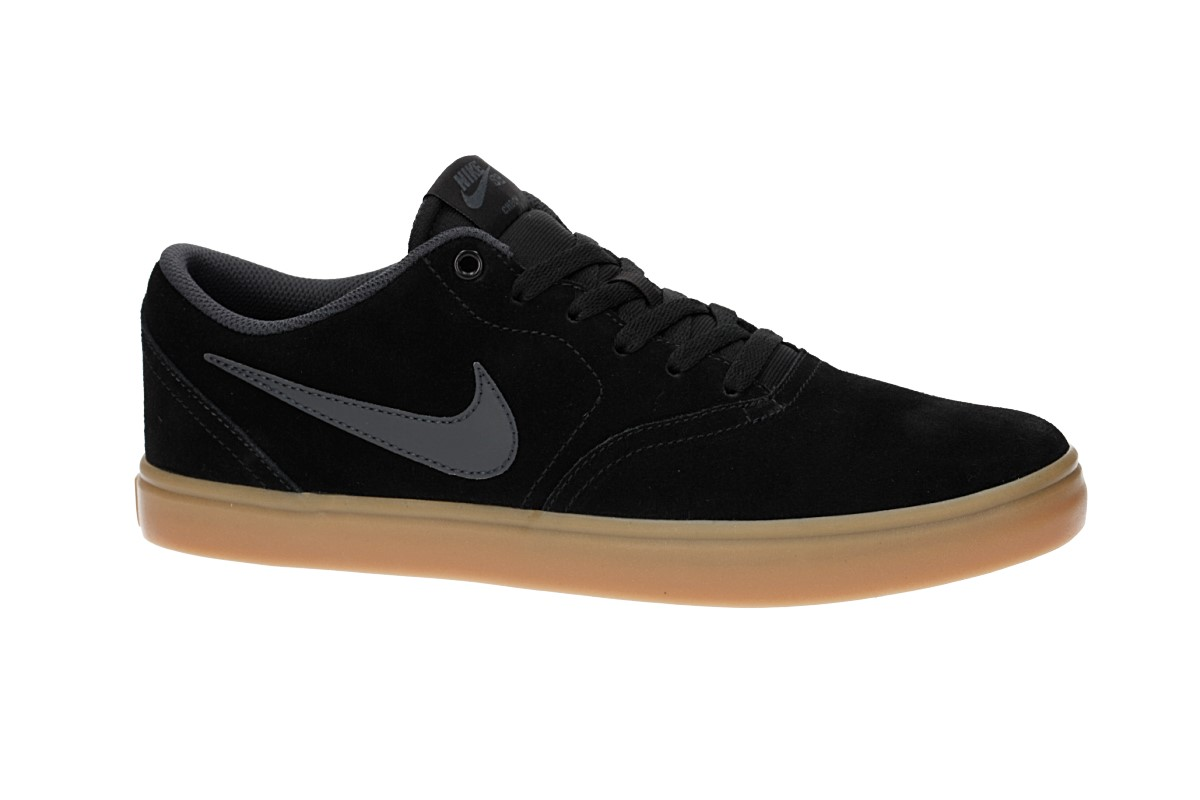Nike SB Check Solarsoft Zapatilla (black anthracite gum light brown)