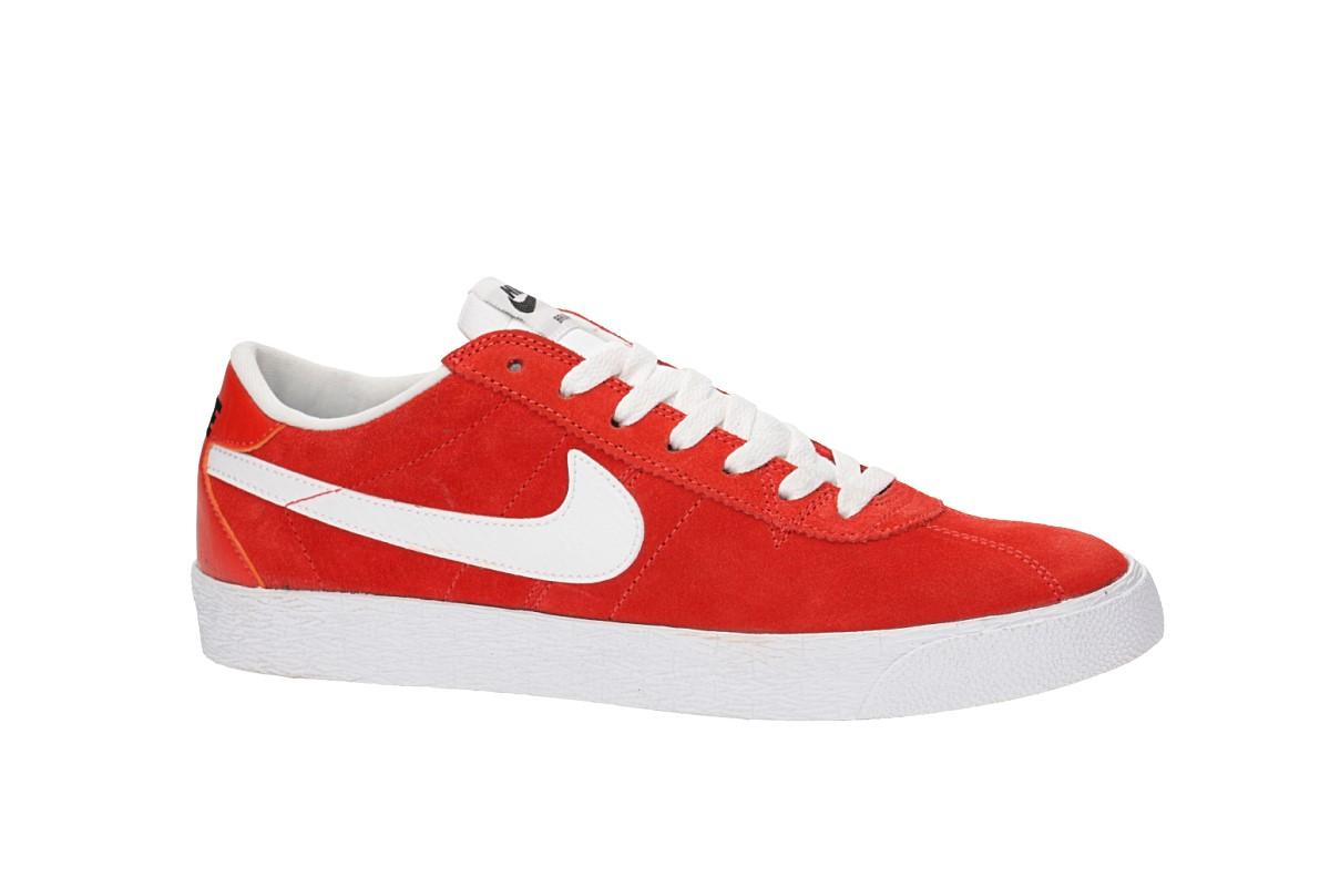 Nike SB Zoom Bruin Shoes (max orange white black)
