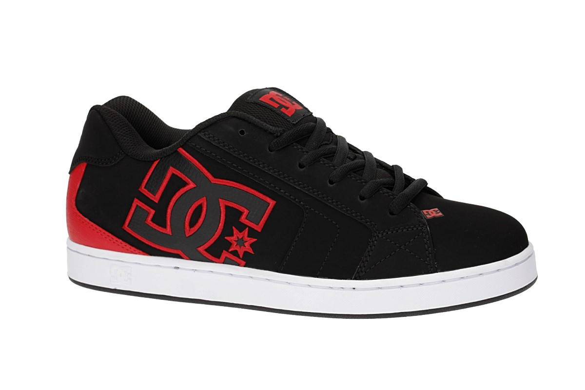 DC Net Shoes (black red)