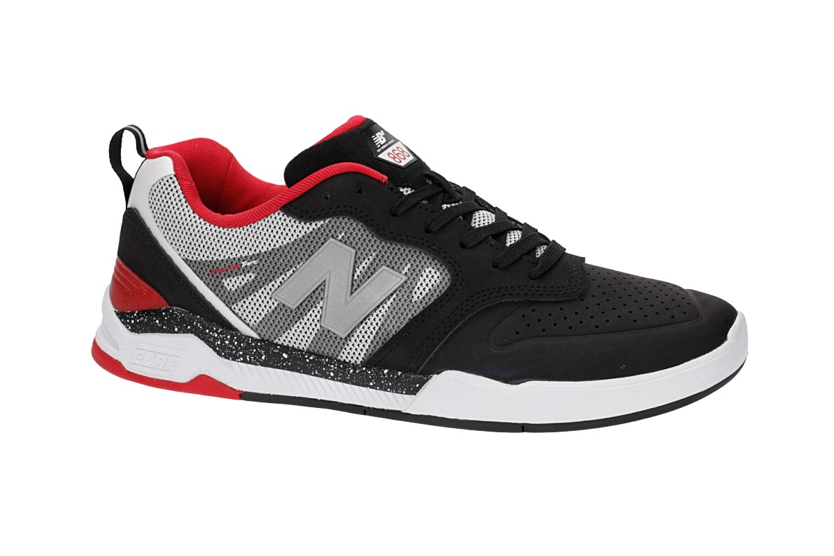 New Balance Numeric 868 Schuh (black white red)