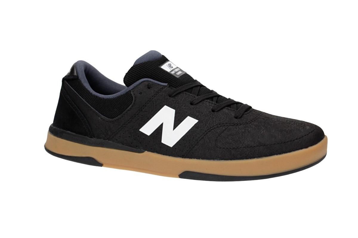 New Balance Numeric PJ Stratford 533 Shoes (black white gum)