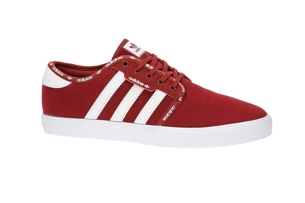 adidas Seeley Shoes (mystery red white white)
