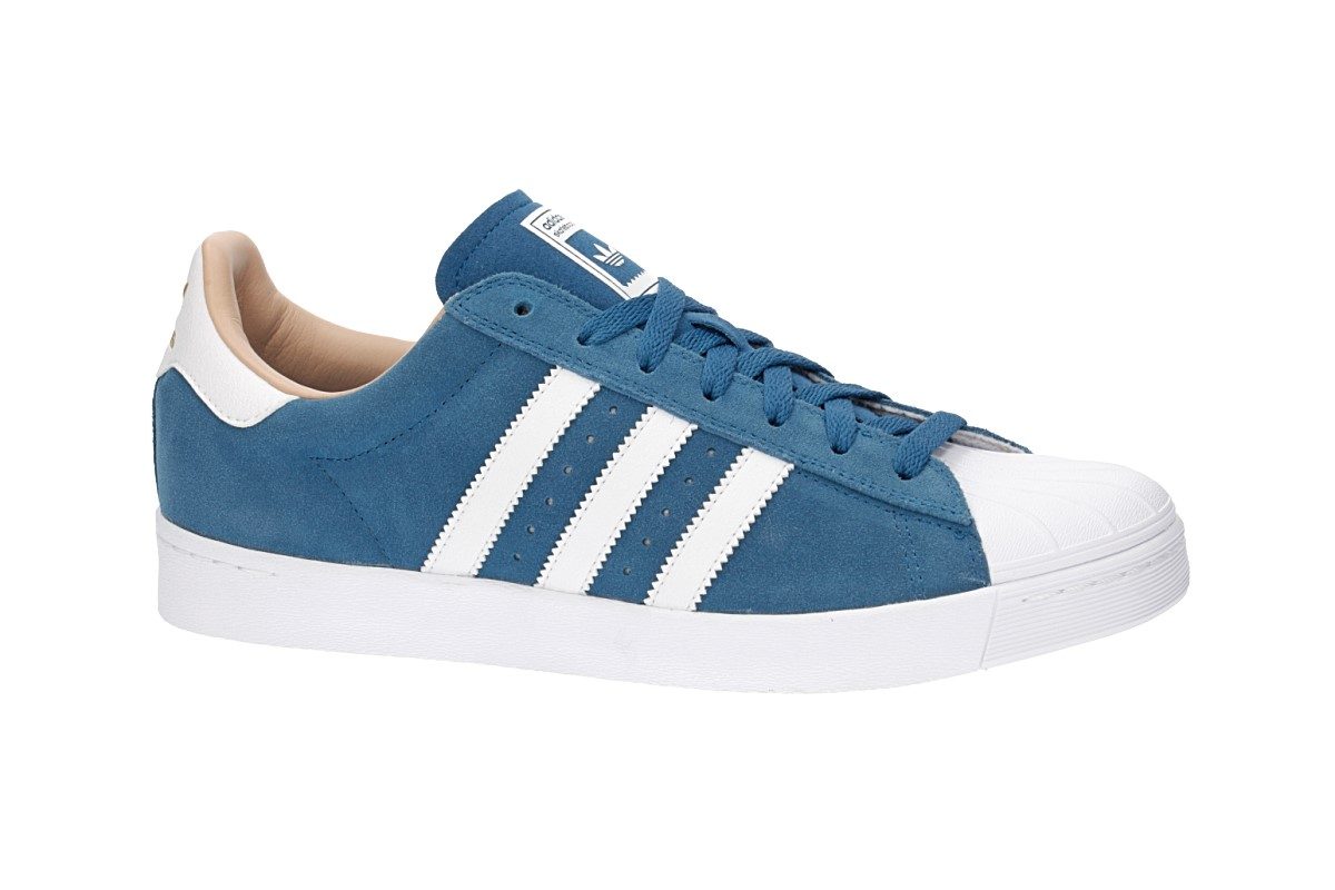 Cheap Adidas Superstar Vulc ADV D68720 Navy / White MSRP $ 90