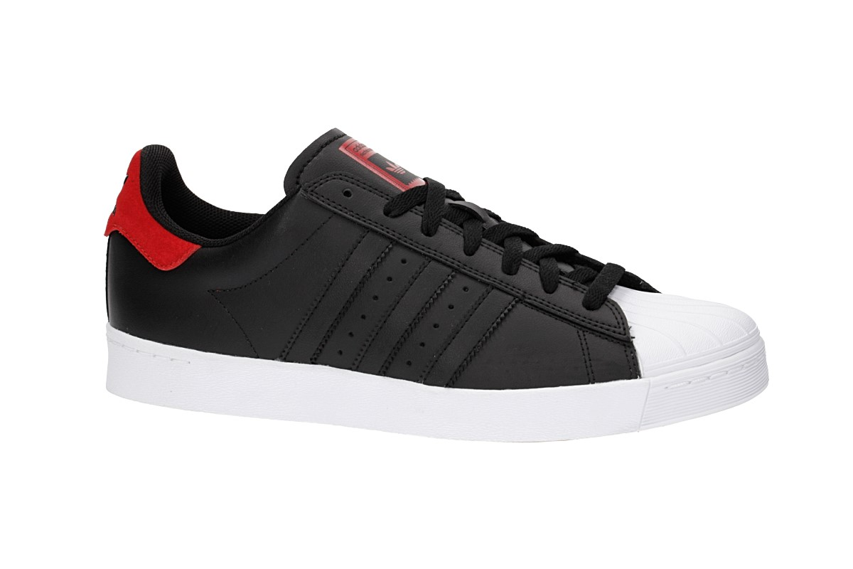 adidas Superstar Vulc ADV White Black