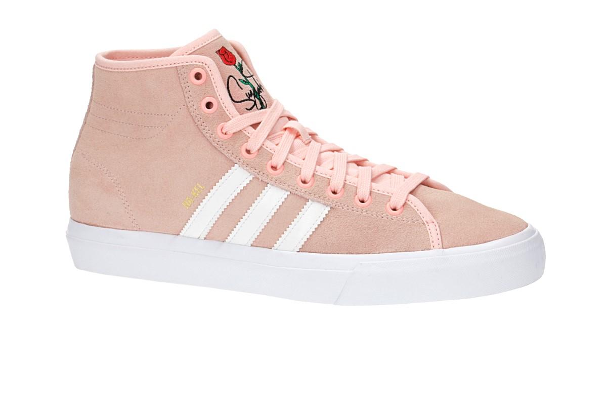 adidas Skateboarding Na-Kel Matchcourt High RX Shoes (haze coral white)
